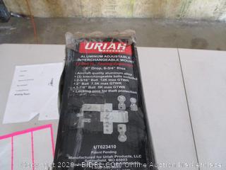 Uriah Products Adjustable Aluminum Mount
