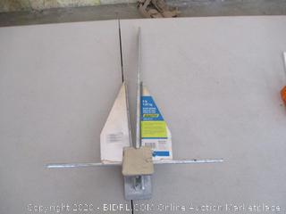 SEACHOICE Hot Dipped Galvanized Deluxe Anchor (for boats)