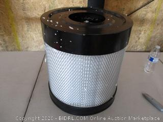 Shop Fox W1844 Wall Dust Collector (Missing Canister) Retail $384