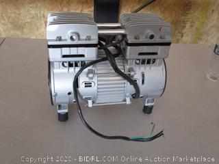 California Air Tools MP100LF 1.0HP Ultra Quiet and Oil-Free Air Compressor Motor (Retail $278)