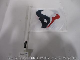 Texans Car Flag