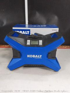 Kobalt 12-Volt Car Air Inflator Tire Digital Pressure Gauge Work