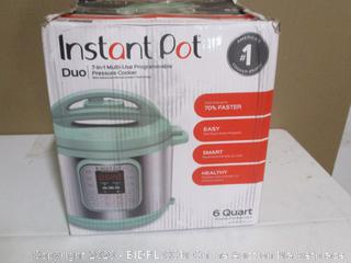 Instant Pot Duo Pressure Cooker (See Pictures)