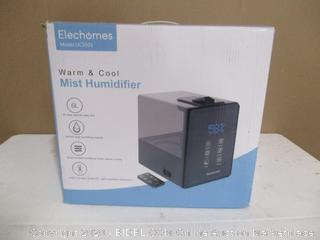 Elechomes Mist Humidifier (See Pictures)\