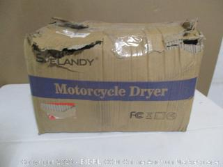Shelandy Motorcycle Dryer (Powers On)