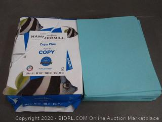 hammermill copy plus paper 500 sheets Plus hammermill colors teal paper 500 sheets