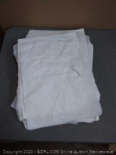 White thin paper sheets