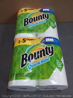 Bounty quick size paper towels 2 pack