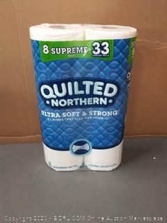 Quilted Northern Ultra Soft & strong 2-ply toilet paper 8 rolls