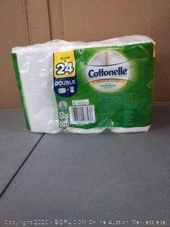 Cottonelle Ultra Gentle Care with Aloe & E Toilet Paper -- 12 Rolls