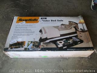 SnapSafe Under Bed Safe (See Pictures)
