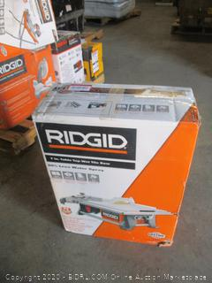 Ridgid Table Top Tile Saw (Powers On)