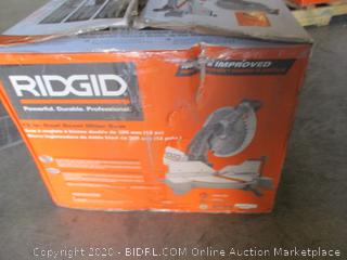 Ridgid Miter Saw (Powers On)