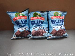 Garden of Eatin' Tortilla Chips - Blue Corn 9.00 oz ShopRite x3