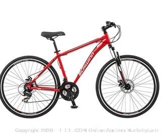 Schwinn GTX 2.0 700c Men's Dual 18 Sport Bike, 18-Inch/Medium (Online $315)