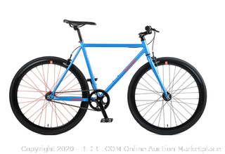 Westridge Retrospect RS Mantra V2 SS/FG Fixie sky blue bike