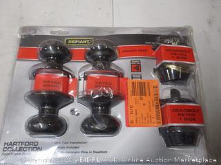 Home Lock/Doorknob Set