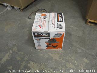 Ridgid Shop Vac (See Pictures)