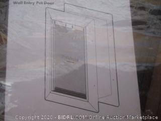 PetSafe New Wall Entry Dog and Cat Door - Pet Door with Telescoping Tunnel (Retail $114)