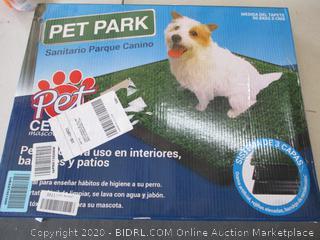 "PetZoom Pet Park Indoor Pet Potty, (25"" x 20"" x 0.5"")"