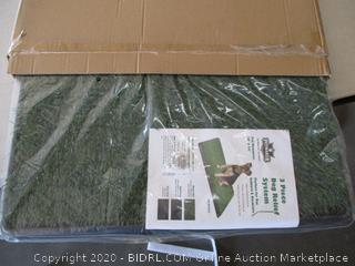 Petmaker Artificial Grass Bathroom Mat for Puppies and Small Pets