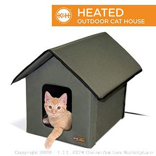 K&H Pet Products Outdoor Kitty House, Insulated Cat Shelter