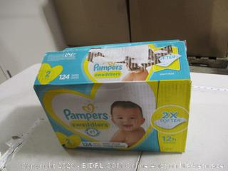 Pampers - Swaddlers Diapers, Size 2 (124 Count)