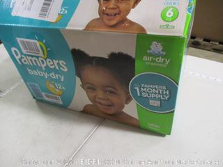 Pampers - Baby-Dry Diapers, Size 6