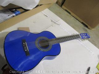 "Music Alley- 1/2 Size 34"" Junior Classical Guitar- Blue"