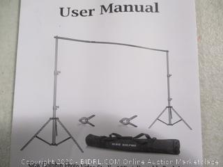 Slow Dolphin- Photo Video Studio- 10ft Adjustable Backdrop Support System Kit