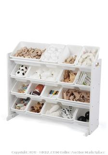 Tot Tutors - Supersized Toy Storage Organizer