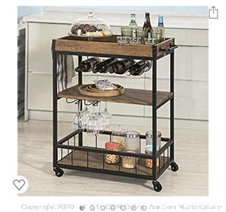 Hoatian - Bar Serving Cart