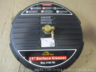 "15"" Pressure Washer Surface Cleaner"