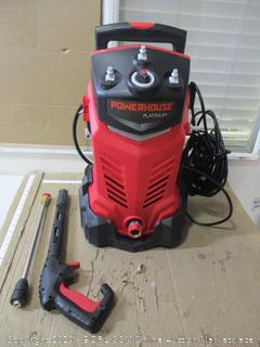 Powerhouse International - Electric High Power- Pressure Washer - 3000 PSI 2.2 GPM - Power Washer - Patio Cleaner - Hose Reel - Spray Gun (Red - Platinum Edition, $299 Retail)