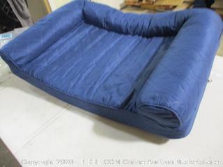 Sofa Dog Bed- Blue