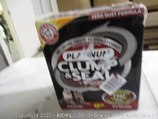 Arm & Hammer- Platinum Clump & Seal Cat Litter