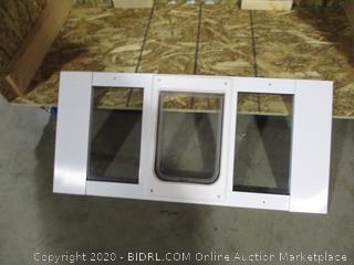 Ideal- Sash Window ChubbyKat-Window Pet Door