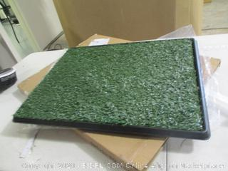 """PetMaker - Artificial Grass Bathroom Mat for Puppies and Small Pets (20"""" x 25"""")"""