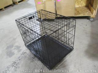 iCrate - Folding Double Door Dog Crate