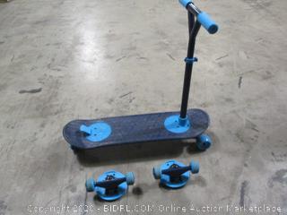 Morfboard- 2 in 1 Kick Scooter & Skateboard Deck