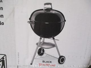 Weber- Original Kettle Charcoal Grill