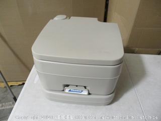 Camco- Portable Toilet- 2.6 Gallon Capacity