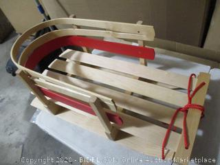 Paricon- Pull Sleigh (damaged, please see picture)