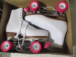 Chicago Skates- Roller Skates- Ladies -Size 10- White