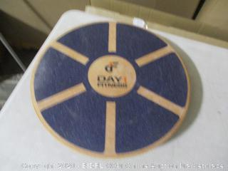 Day 1 Fitness- Balance Board- Wood- Circle
