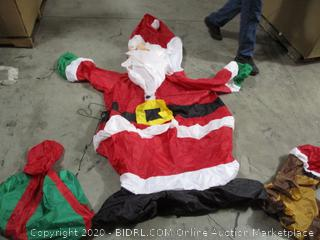 7ft Santa Inflatable Yard Decoration