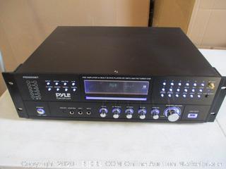 Pyle - PD3000BT 4-Channel Home Theater Bluetooth Preamplifier - 3000 Watt ($203 Retail)