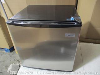 Midea - WHS-65L Mini Fridge, 1.6 Cubic Feet, Stainless Steel