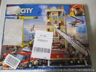 LEGO City Downtown Fire Brigade 60216 Building Kit