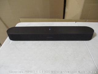 Sonos Beam - Smart TV Sound Bar with Amazon Alexa Built-in - Black ($399 Retail)